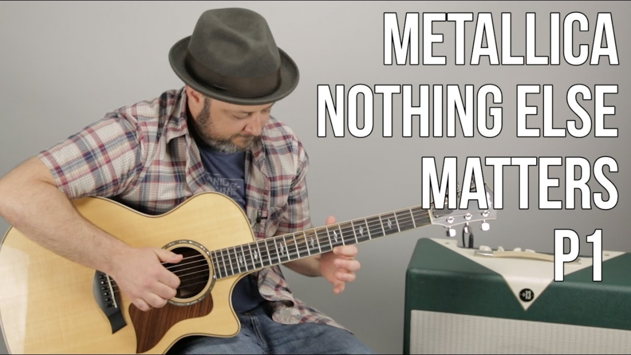 metallica nothing else matters guitar lesson part 1 youtube. Black Bedroom Furniture Sets. Home Design Ideas