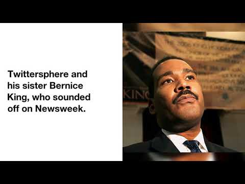 MLK Jr.'s Son Dexter King Forgives Newsweek For Casket Photo