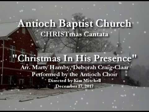 in his presence christmas cantata 2017 - Christmas Cantatas For Small Choirs