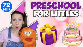 Videos For Toddlers - Preschool Learning Video - Happy Birthday Song Circle Time Special