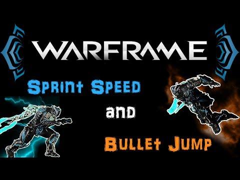 [U20.7] Warframe - Sprint Speed & Bullet Jump - Ways To Improve Your Movement | N00blShowtek