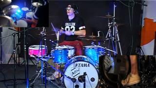 Matt Hanson-New Found Glory-Truck Stop Blues(Drum Cover)