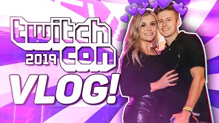BrookeAB | TWITCHCON VLOG 2019!! w/ Symfuhny Valkyrae Cloakzy & MORE!!
