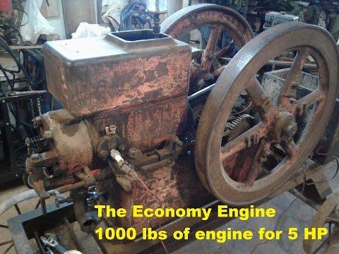 1000 lbs Economy Hit N Miss 5 HP Engine