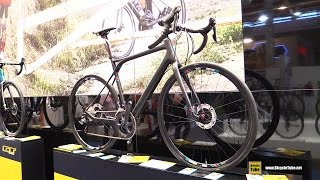 2016 GT Bicycles Grade Carbon Ultegra Road Bike - Walkaround - 2015 Eurobike