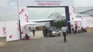 Thực tế vị trí dự án Saigon Sports City Quận 2 - Ngày khởi khởi công