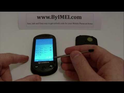 Vodafone 553, ZTE-G X930 Smile Q, T-Mobile Vibe E200, ZTE X930 Unlock & input / enter code