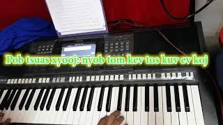 karaoke lamvong nyob tom kev tos kuv thiaj tau ev koj #beungthor