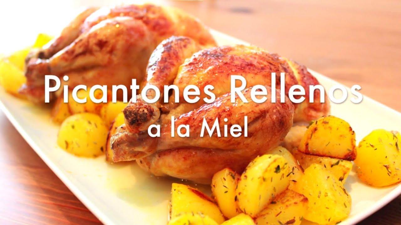 Pollos picantones rellenos al horno recetas de navidad - Recetas de bogavante al horno ...