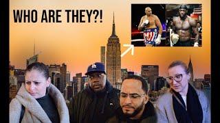 TESTING NEW YORK'S BOXING KNOWLEDGE! *FUNNY* #WilderFury2