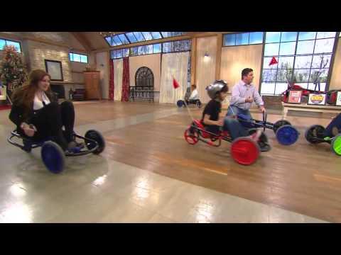 Y-Bike Explorer 2.0 Deluxe 3-Wheel Ride-On Go Kart