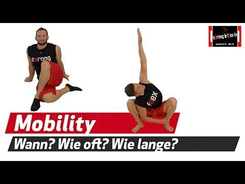 Mobility gehört zur täglichen Körperpflege - Unsere Empfehlung