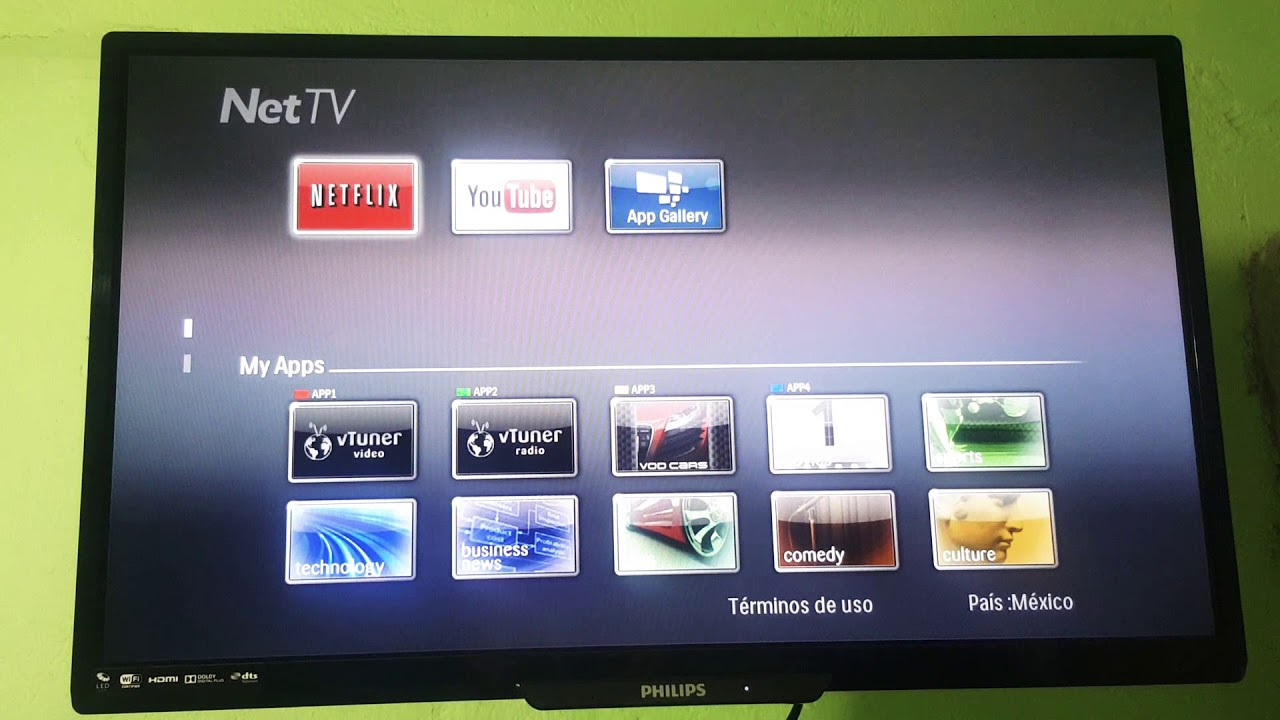 philips net tv registrierung