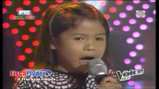 9 Year Old Stunning Performance on The Voice Kids Philippines - Lyca ( Complete Clip / Full Screen )