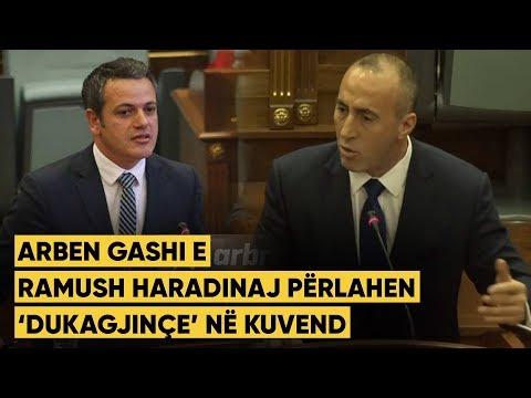 Arben Gashi e Ramush Haradinaj përlahen 'Dukagjinçe' në Kuvend