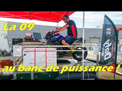 On Test La Mt09 Au Banc !  Youtube