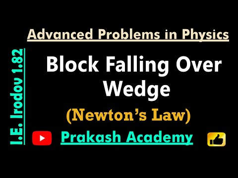 Law of Motion  9  Problem 1 82 for IIT by Guru Sir @Ranchi