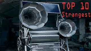 Top 10 Strangest New Musical Instrument Inventions