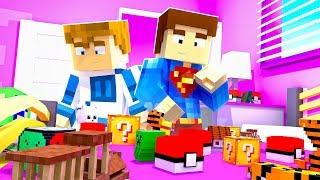 NASZ NOWY MĘSKI POKÓJ!!  | Minecraft Pokemon #10