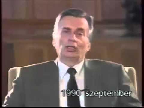 Antall József még mindig titkos beszéde