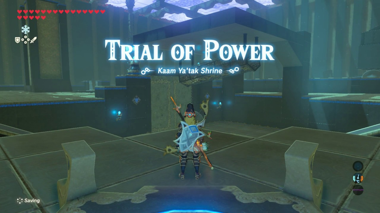 Zelda - Kaam Ya'tak and Trial of Power solution in Breath of