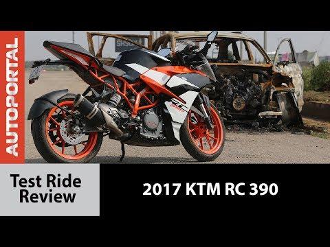 2017 KTM RC 390 - Test Ride Review - Autoportal