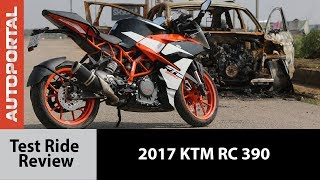 2017 KTM RC 390 - Test Ride Review - Autoportal