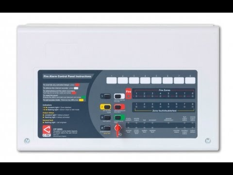 Cfp Zone Fire Alarm Panel Demonstration