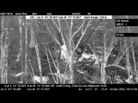 See the Mass. State Police Air Wing locate missing hikers in Princeton (video)
