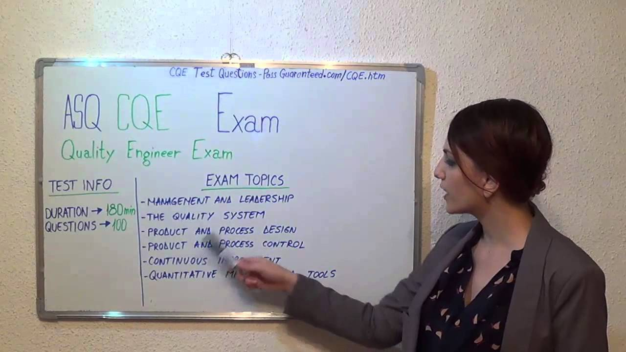 CQE Test Questions Exam PDF Answers - YouTube