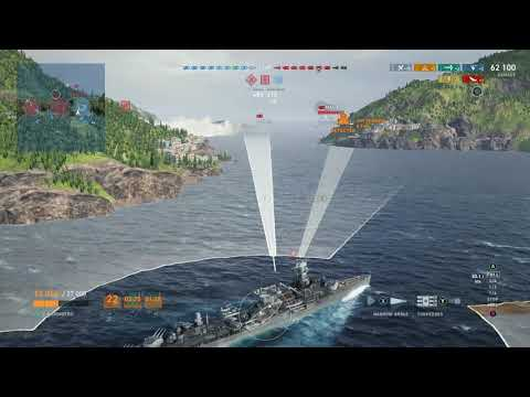 Nurnberg Revisted! (Post Patch) (World Of Warships Legends Xbox One X)