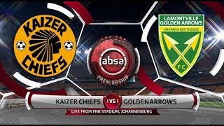 Absa Premiership 2018/19 | Kaizer Chiefs vs Golden Arrows