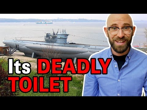 That Time A WWII German U-Boat Sank As A Result Of Flushing A Toilet