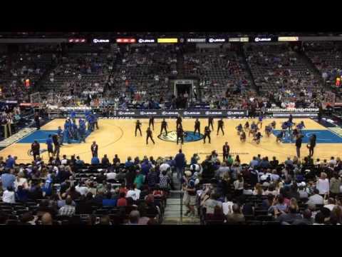 Dallas Mavericks Dancers and Dallas Police Department -JuJu on That Beat