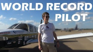 World Record Youngest Pilot To Fly Around The World