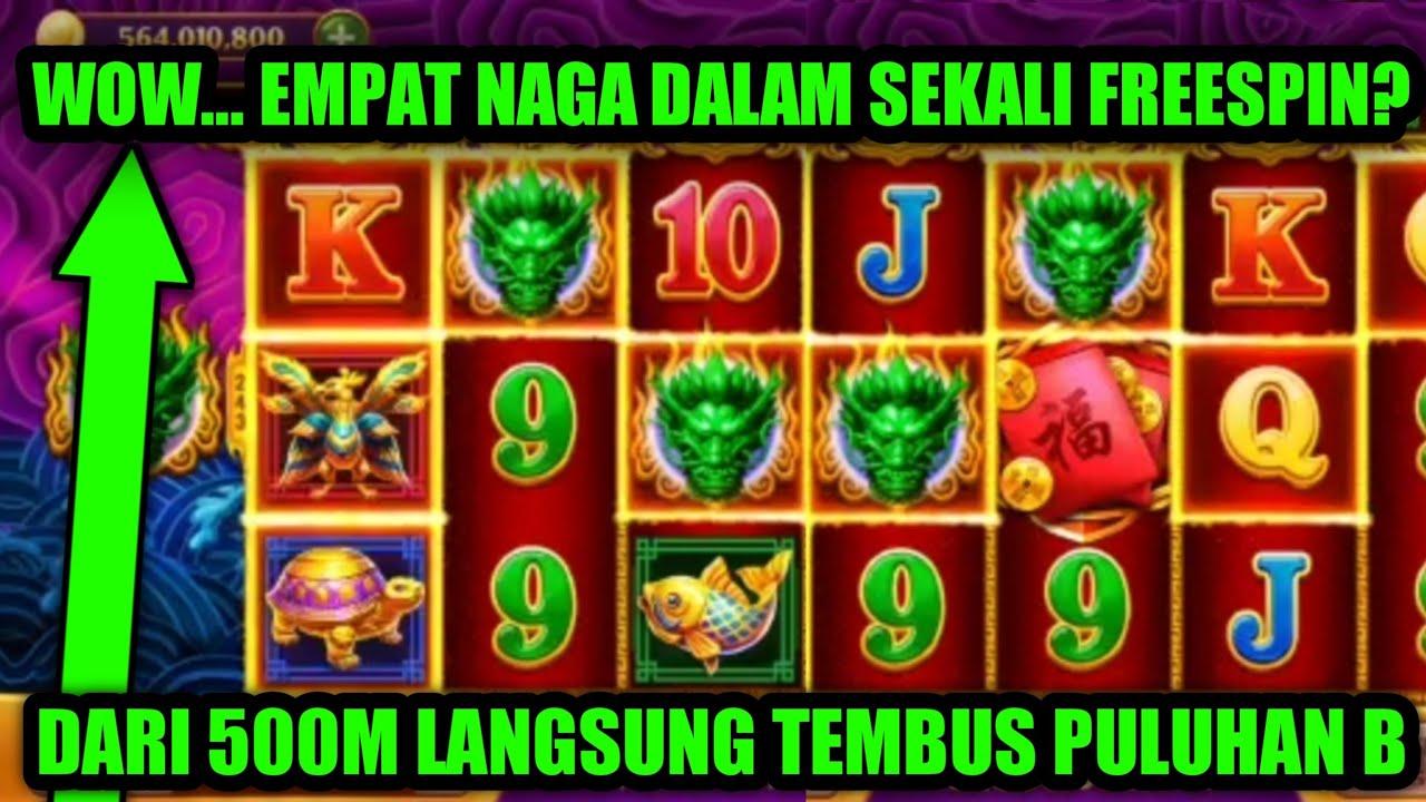 Download WOW... EMPAT NAGA HIJAU TERBANG SEKALIGUS DALAM FREESPIN