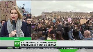 Paris : les jeunes ont répondu à l'appel de la grève mondiale pour le climat