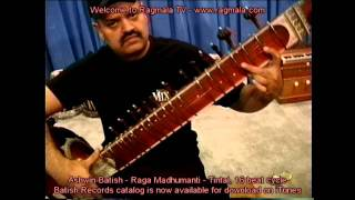 Raga Patmultani by sitar maestro Ashwin Batish music of North India
