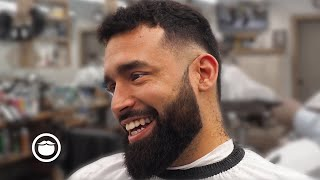 Barber Surprises Client with This Freehand Clipper Work | Ricky Hernandez