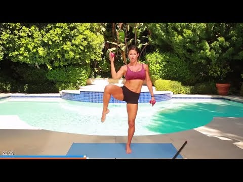 35 Min Full Body Workout with Weights // Optional Balance Bar