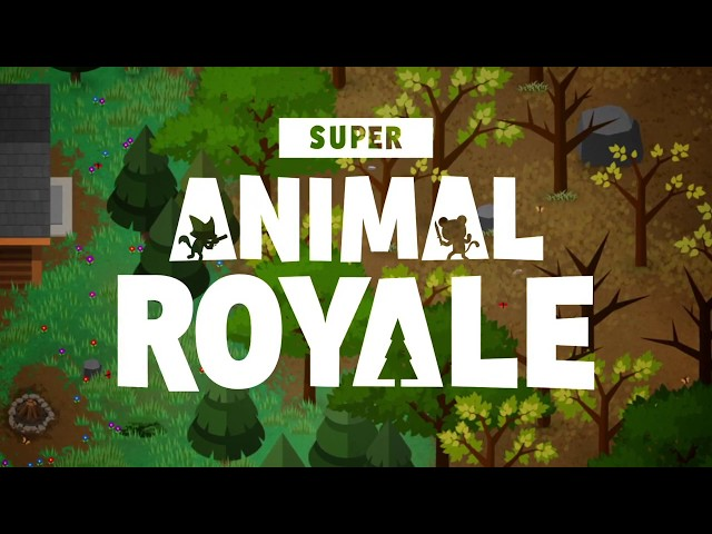 Super Animal Royale Trailer | Top down battle royale for PC & Mac