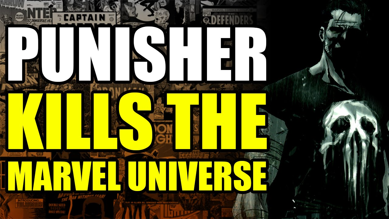 The punisher marvel universe pdf kills