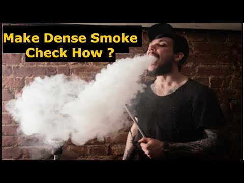 Make Dense Smoke in Hookah Immediately | Best tool for sheesha lovers