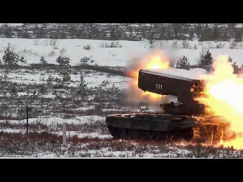 Стрельбы из ТОС-1А «Солнцепек» в Ленинградской области