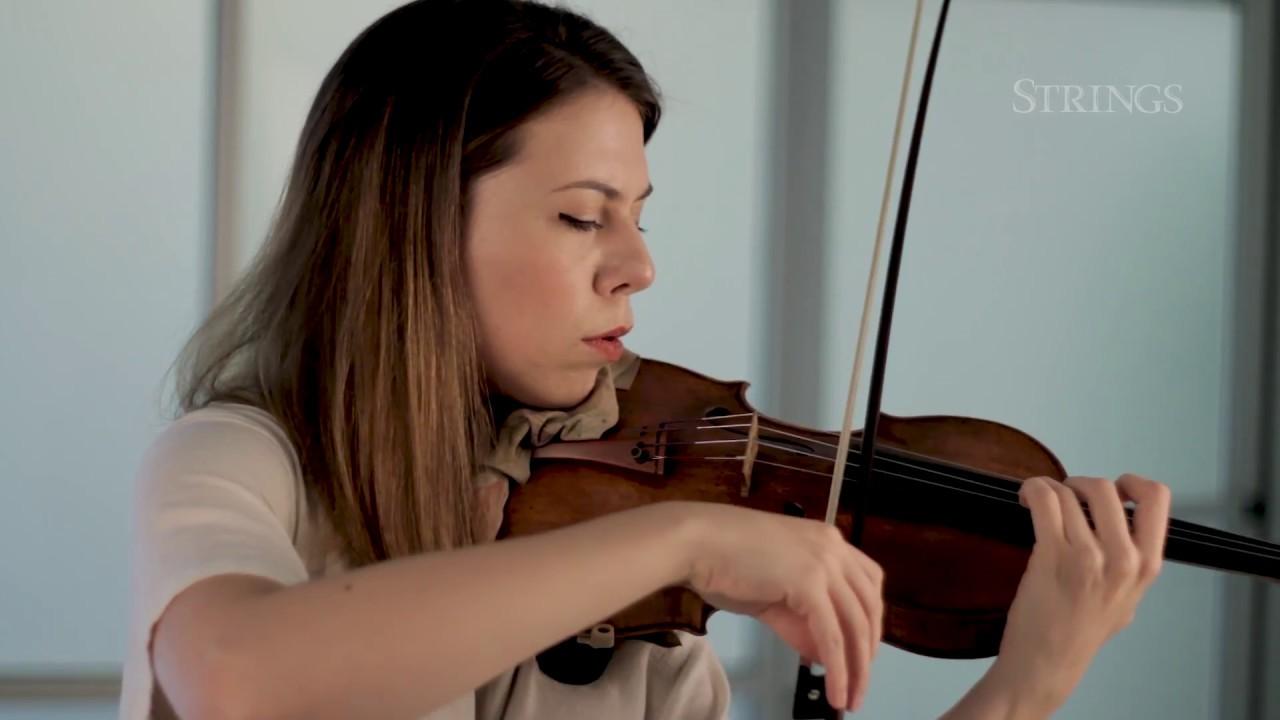 Violinist com interview with Tessa Lark: Bluegrass on a Strad