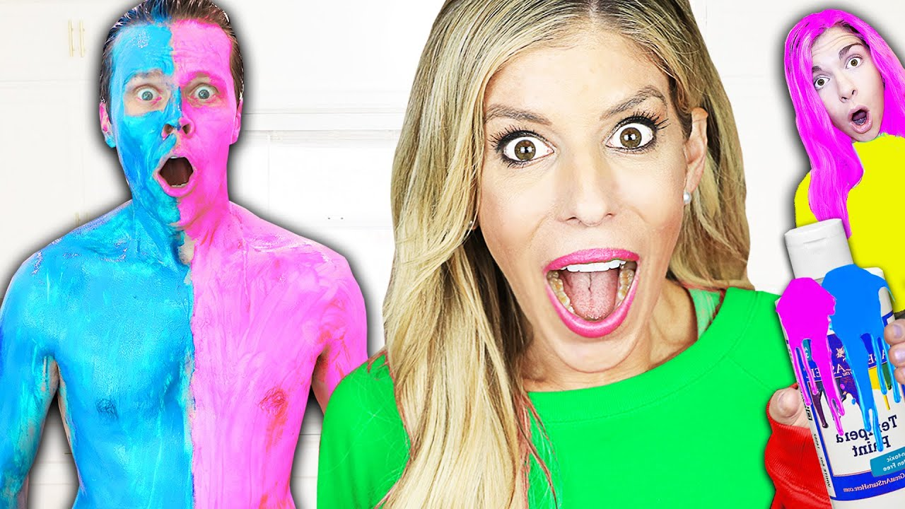 Download Using only ONE COLOR to Trick Your Best Friends! Rebecca Zamolo