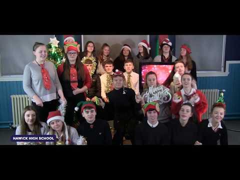 Hawick High School Sings Rockin' Around the Christmas Tree | 2018 Music Video