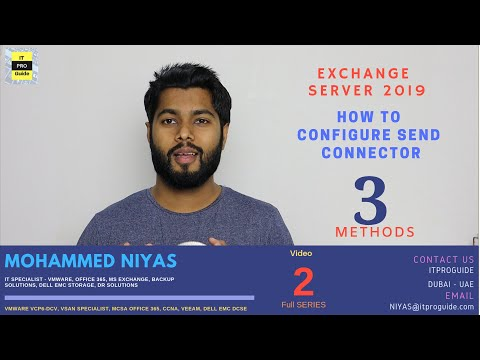 How To Configure Send Connector In Exchange Server 2019 | Step By Step | Three Methods | Video 2