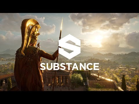 Discover the World of Assassin's Creed: Odyssey – Substance Workflow at Ubisoft Québec