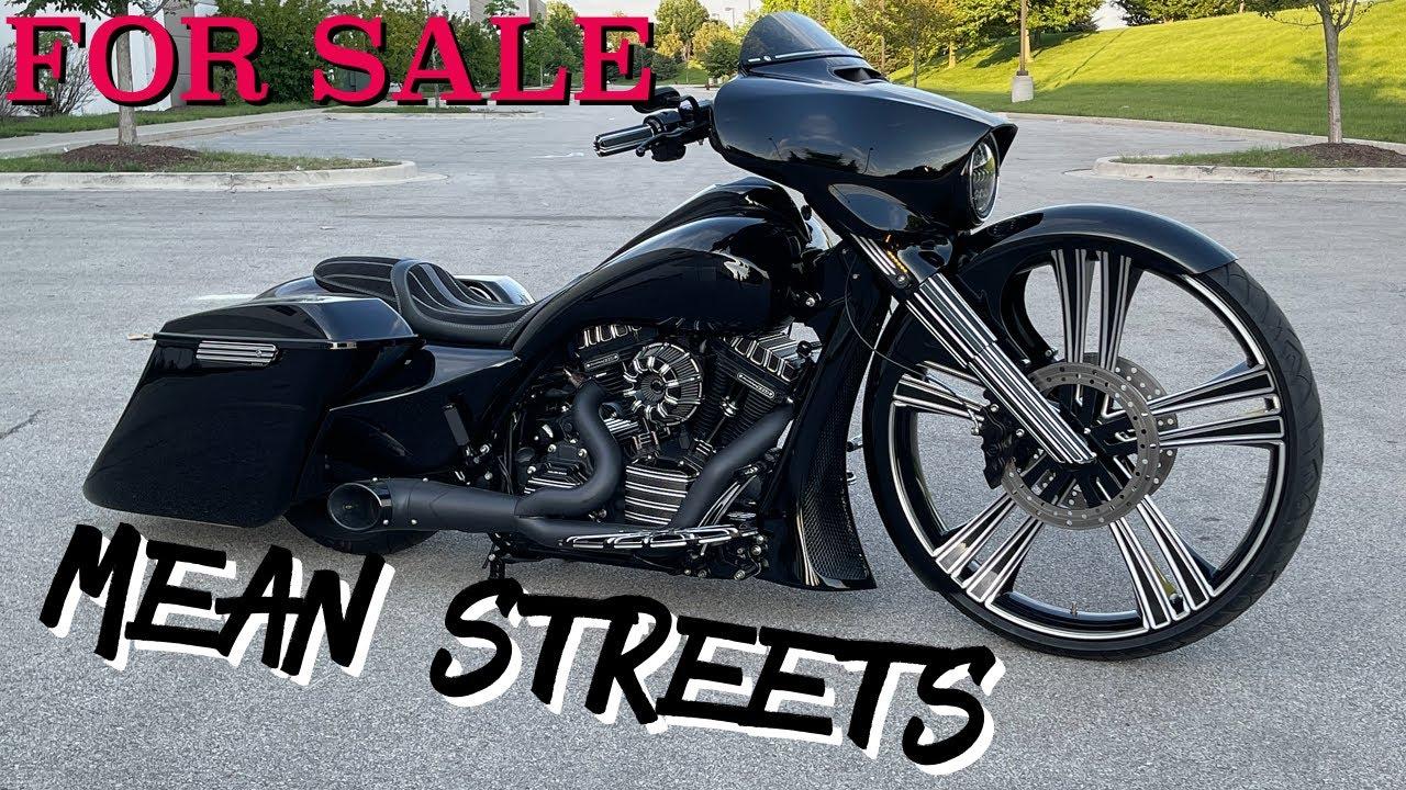 """2016 30"""" Harley Street Glide For Sale Custom Bagger"""